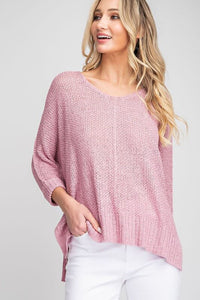 Angelica Oversized Loose Knit Sweater
