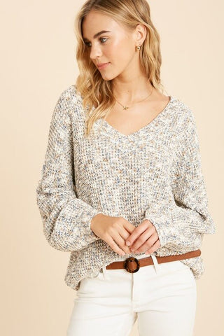 Channa V-Neck Sweater