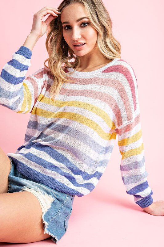 Embry Striped Sweater