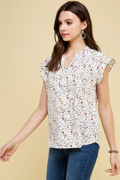 Waverly Floral Button Down Top