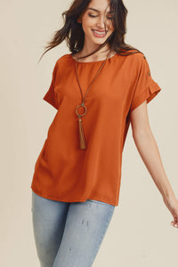 Joelle Short Sleeve Blouse
