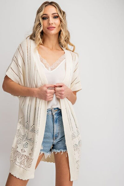 Ronnie Open Front Cardigan