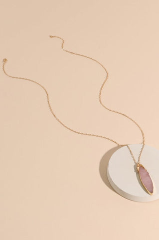 Isla Marquise Pendant Necklace