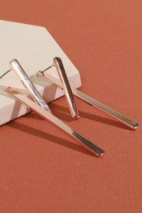 Moira Double Bar Drop Earrings