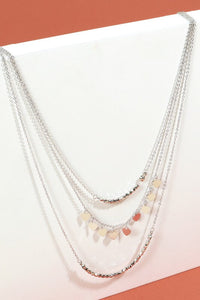 Posey Layered Heart Charm Necklace