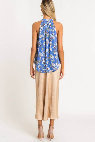 Colette Floral Sleeveless Blouse