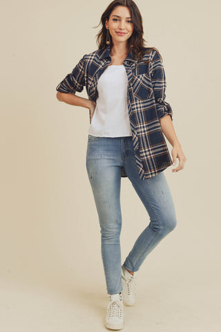 Dallas Plaid Button-Down Shirt