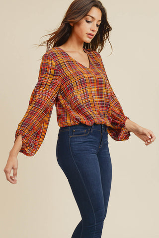 Callie V-Neck Blouse