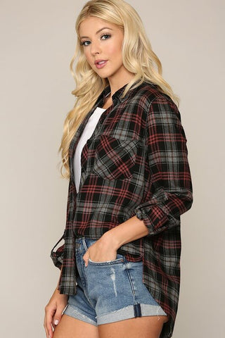 Jessie Button Down Top