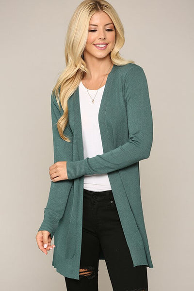 Willa Open Front Lightweight Cardigan
