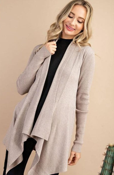 Janna Open Front Knit Cardigan