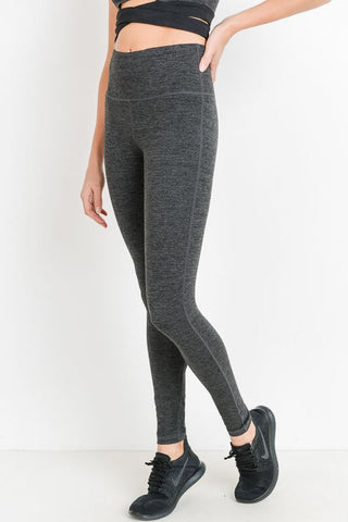 Journey High Waist Solid Leggings