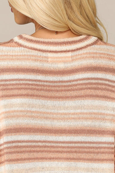 Romy Dropped Shoulder Sweater