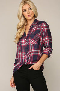 Aubree Classic Button Down Top