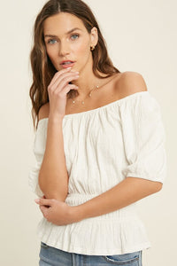 Kate Textured Top