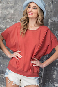Embry Short Sleeve Pullover Top