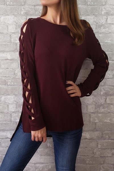 Dakota Strappy Sleeve Top
