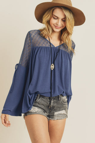 Rayna Bell Sleeve Knit Top