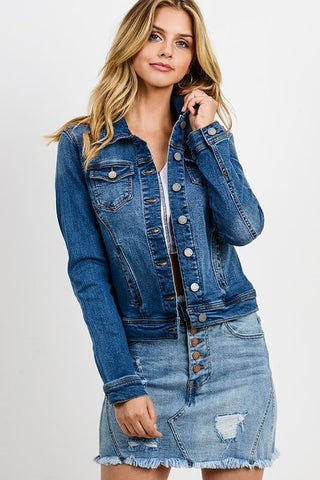 Legacy Slim Fit Denim Jacket