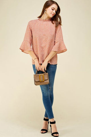 Harlow Polka Dot Top