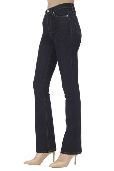 KanCan High Rise Dark Wash Boot Cut Jeans