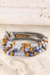 Casadie Layered Stretch Bracelet