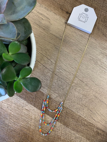Beckham Necklace- Bright