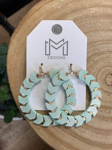 Kingston Earrings- Mint