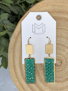 Rory Earrings- Turquoise
