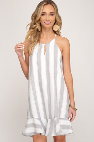 Alexa Bold Striped Cami Dress