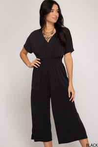 Annika Drop Shoulder Culotte Jumper