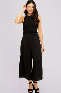 Everleigh Satin Wide Leg Pants