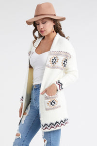 Adeline Fuzzy Open Front Cardigan
