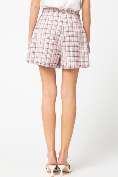 Circe Tweed Wrap Skort