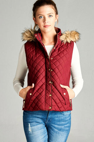 Brooke Quilted Padding Vest