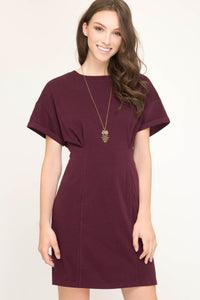 Taylor Short Sleeve Knitted Dress