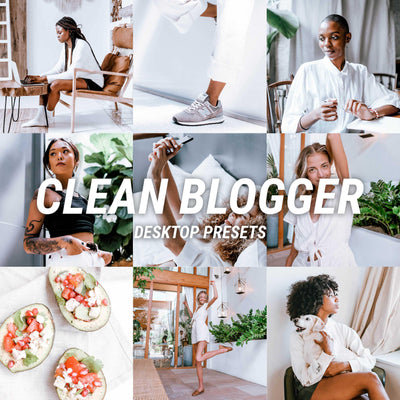 NEW! CLEAN BLOGGER Desktop - JuliPresets