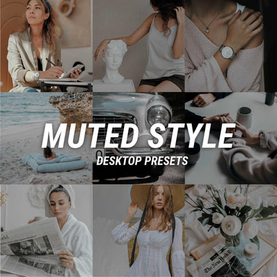 NEW! MUTED STYLE Desktop - JuliPresets