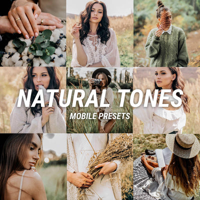 NATURAL TONES Mobile - JuliPresets