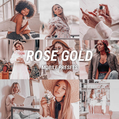 ROSE GOLD Mobile - JuliPresets