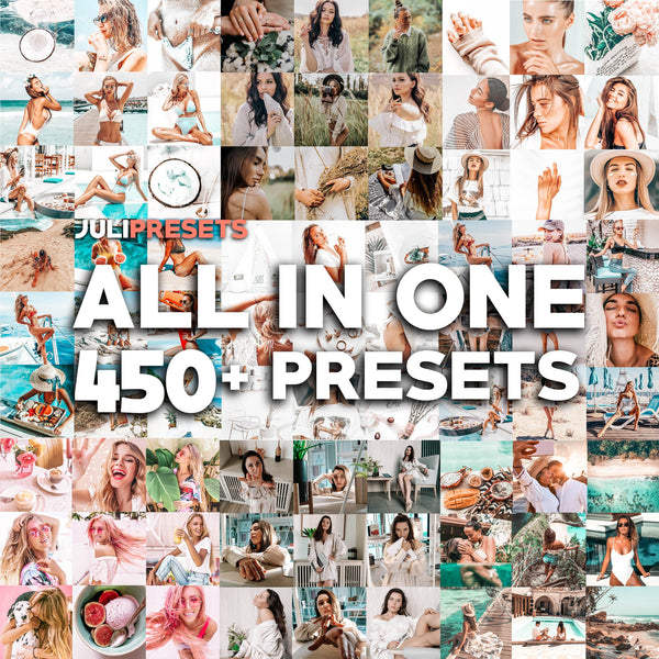 All in One Mobile Presets Pack