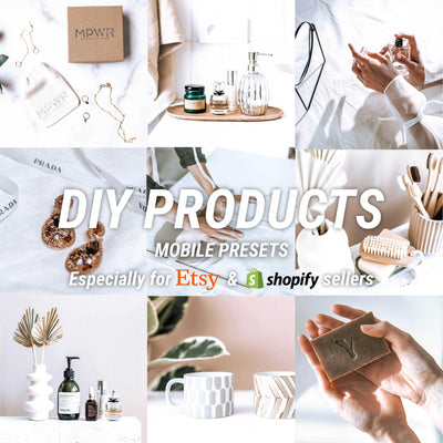 DIY PRODUCTS Mobile - JuliPresets