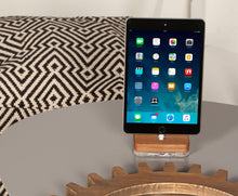 Load image into Gallery viewer, Docking Station for iPhone/iPad, Wooden Charging Stand | ATIK I Walnut