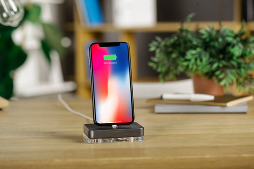 dock for iphone, ipad holder, airpods stand, charging station