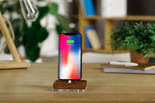 Load image into Gallery viewer, Docking Station for iPhone iPad, Wooden docking Charging Stand | ATIK I Merbau