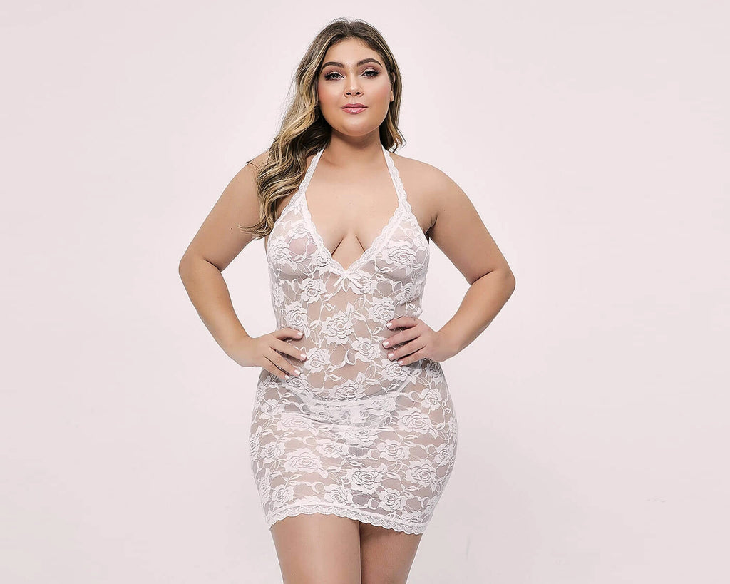 plus size evalamor sexy lingerie nightdress
