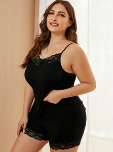 Plus Size Pajama Set