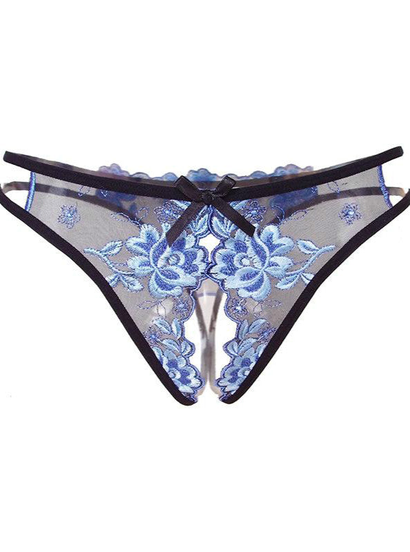 Embroidered Knickers - Evalamor