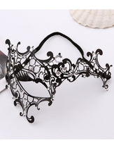 Load image into Gallery viewer, Halloween Metal Diamond-set Mask