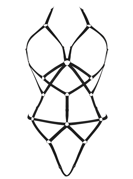 Black Body Cage Harness.